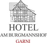 HOTEL AM BURGMANNSHOF GARNI WUNSTORF bei Hannover Logo